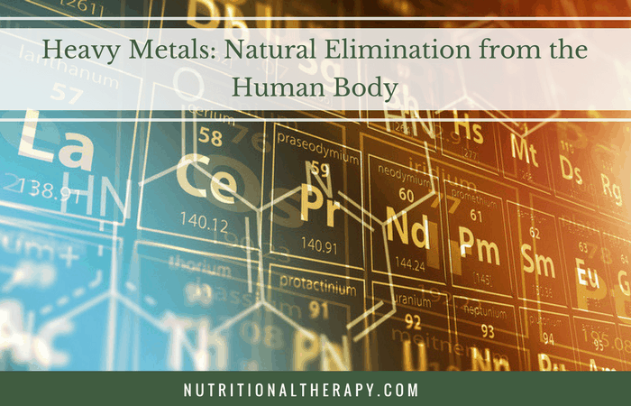 Heavy Metals: Natural Elimination from the Human Body