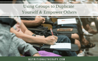 Using Groups to Duplicate Yourself & Empower Others