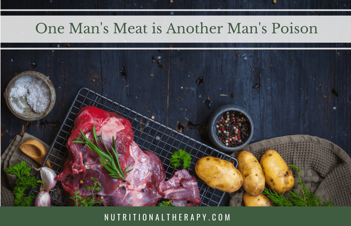 One Man's Meat Is Another Man's Poison