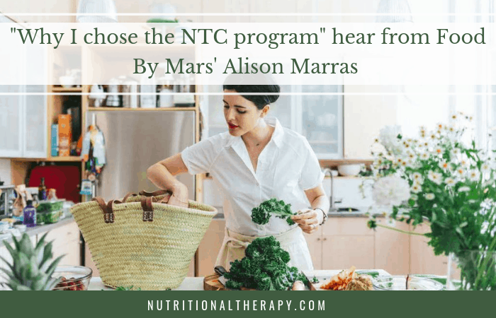 Why I Chose The Ntc Program Hear From Food By Mars Alison Marras