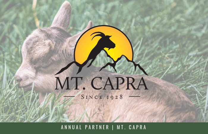 Featuring our Annual Partner, Mt. Capra, gut-friendly protein innovators
