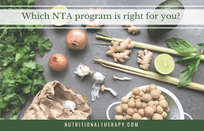 Which NTA program is right for you?