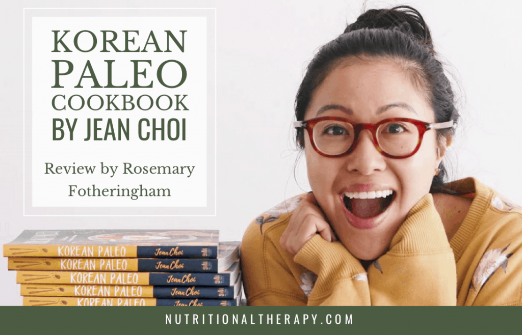 Korean Paleo Cookbook By Jean Choi, Review