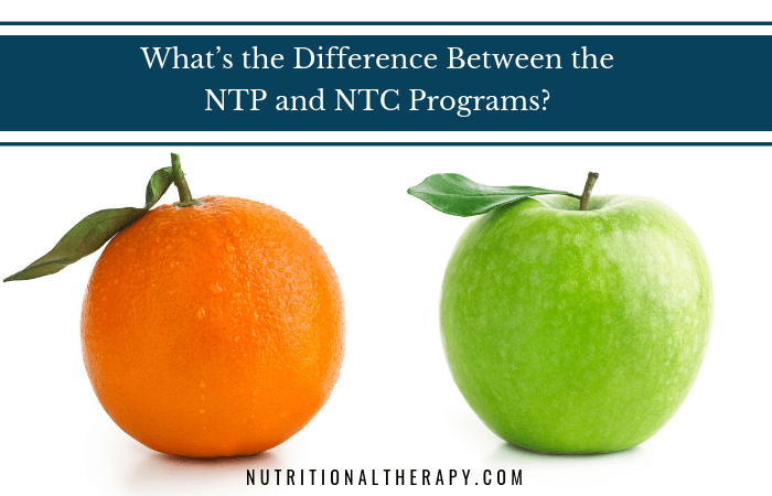 Frequently Asked Question: What's the Difference Between the NTP and NTC Programs?