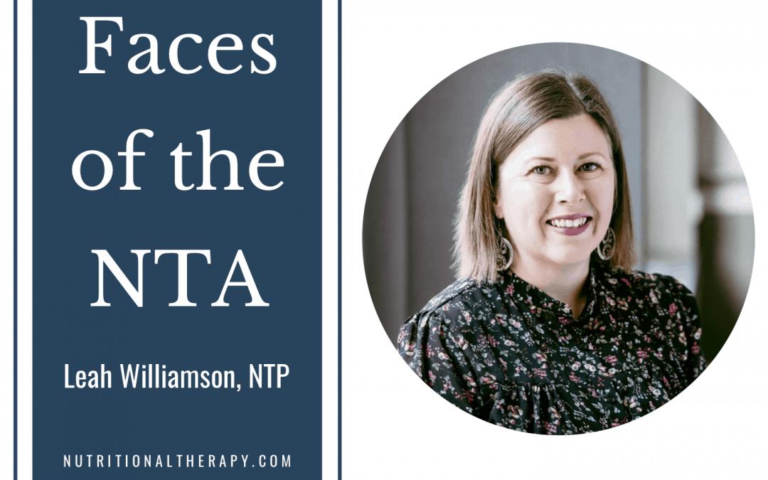 Faces of the NTA: Meet Leah Williamson