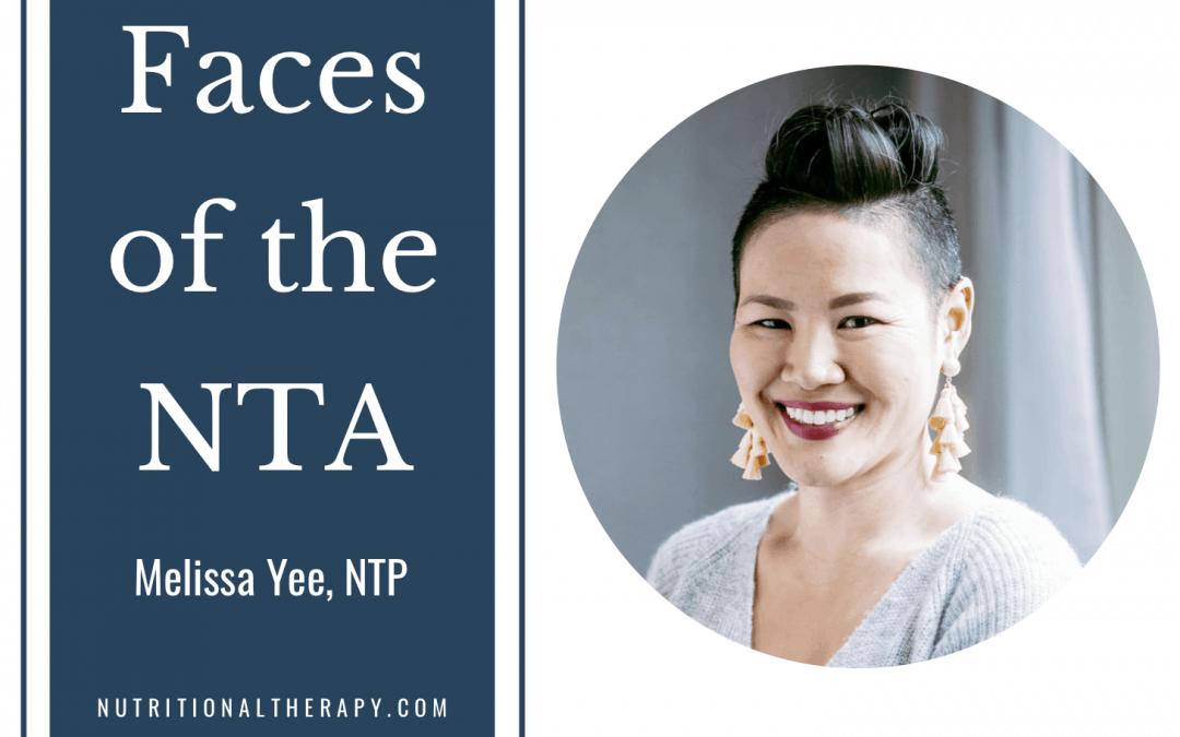 Faces of the NTA: Meet Melissa Yee