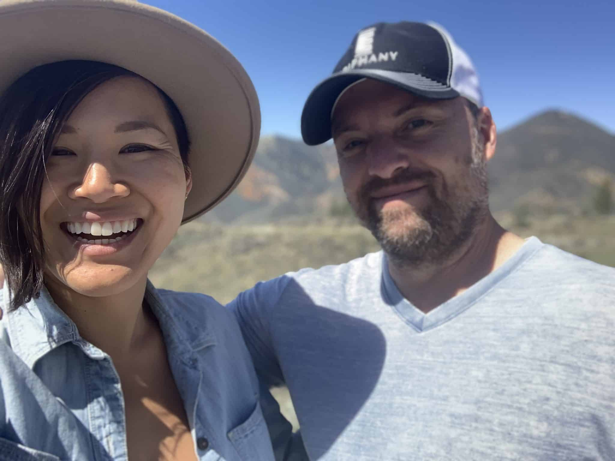Melissa Yee and her Husband