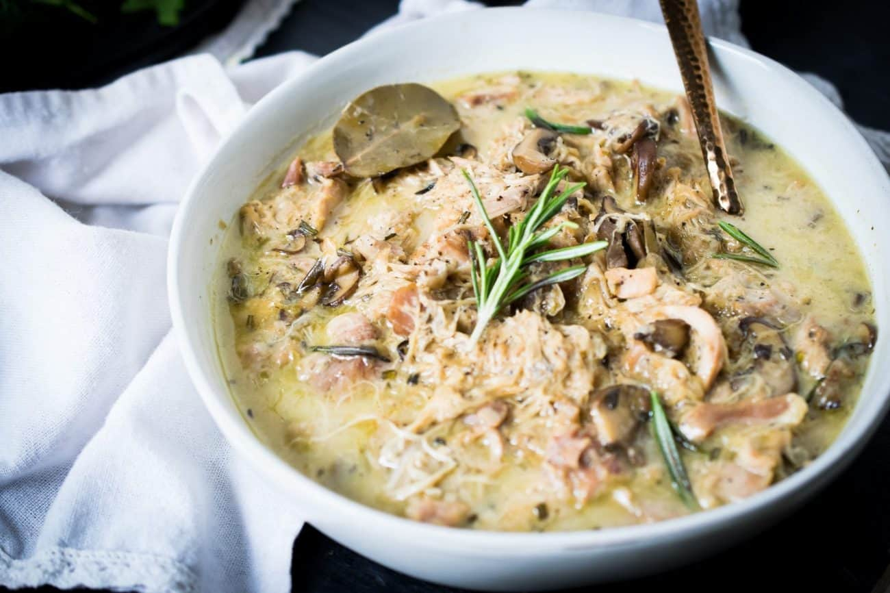 Instant Pot Chicken and Mushroom