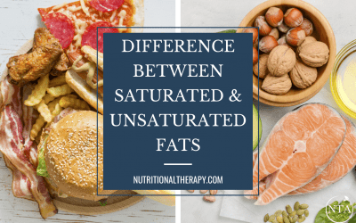 The Difference Between Saturated and Unsaturated Fats: Are Fats Good or Bad?