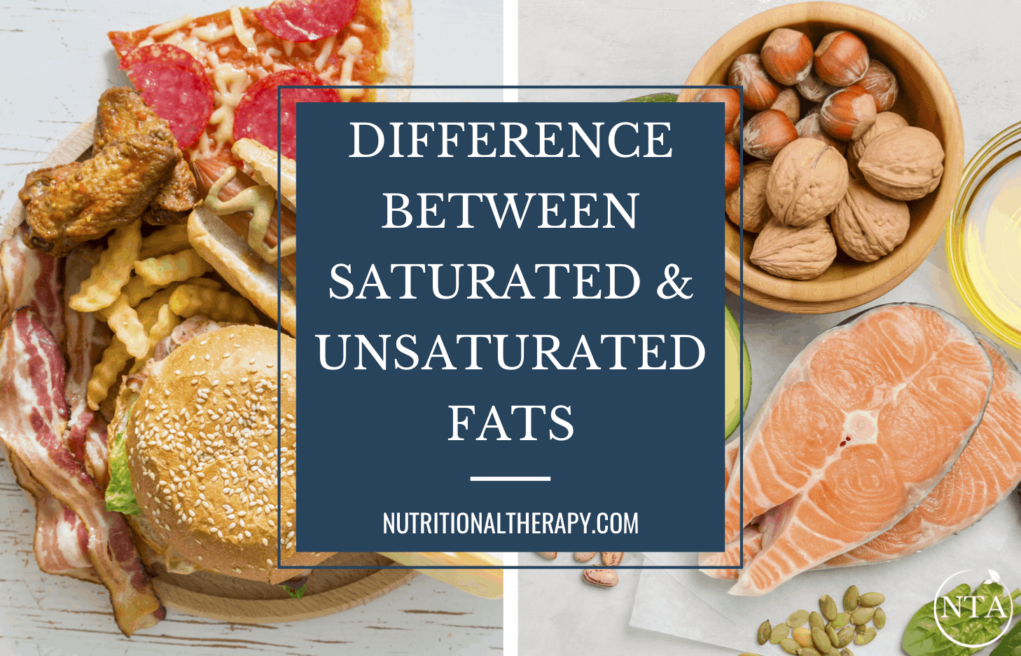 Difference Between Saturated And Unsaturated Fats