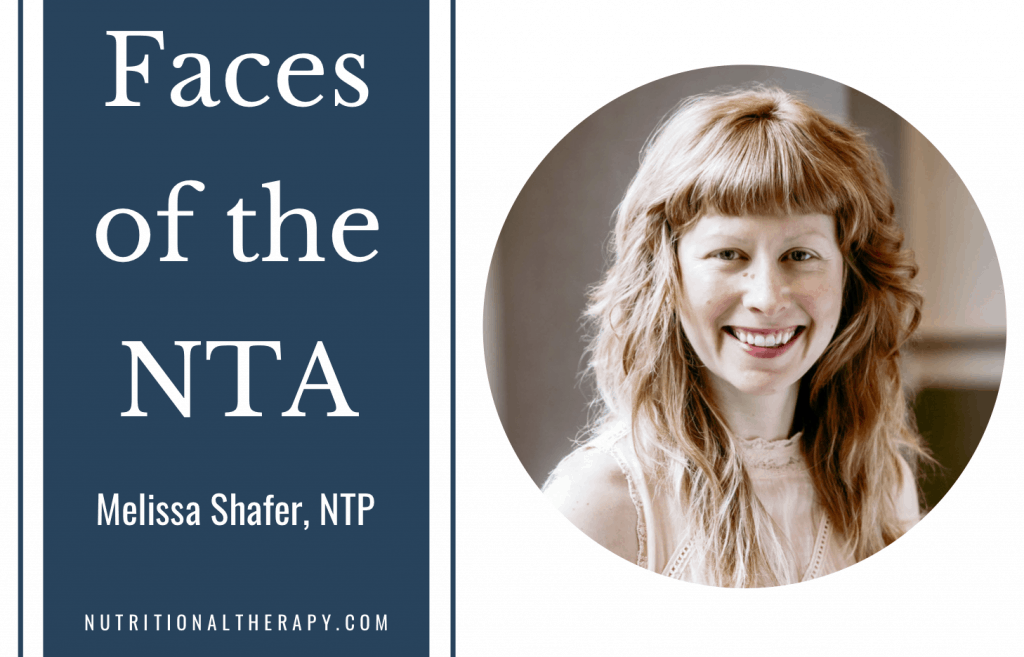 Faces Of The NTA Meet Melissa Shafer
