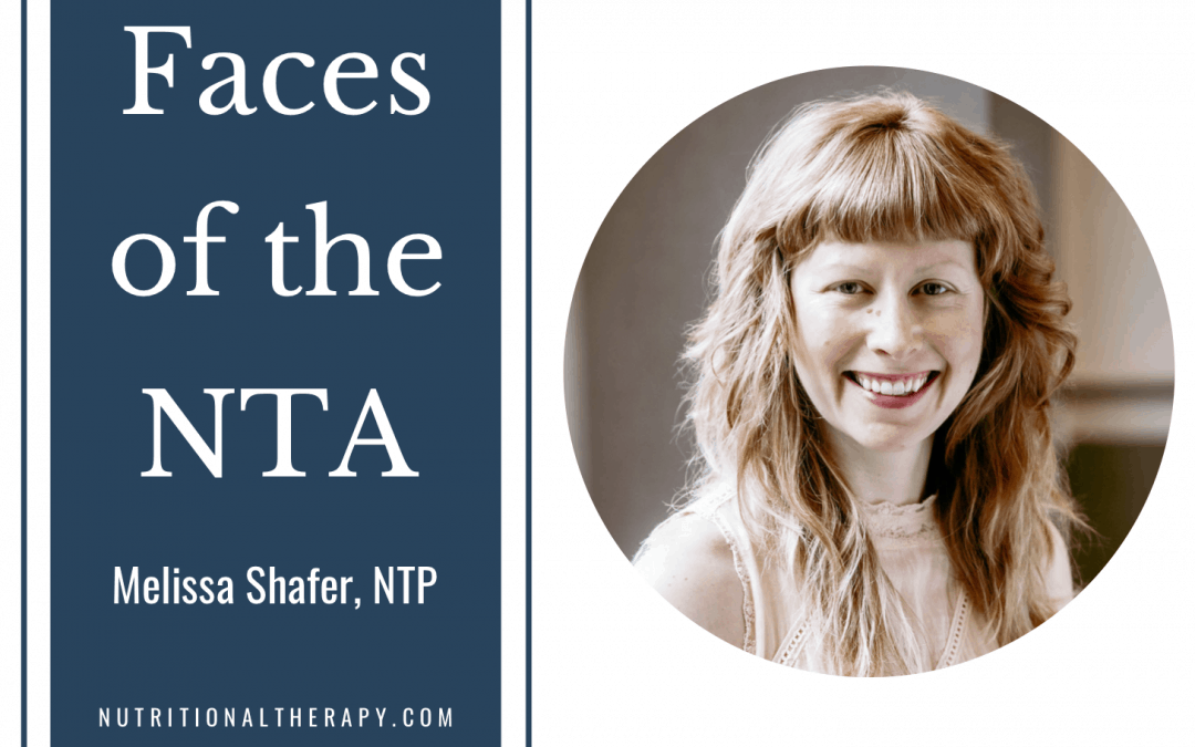 Faces of the NTA: Meet Melissa Shafer