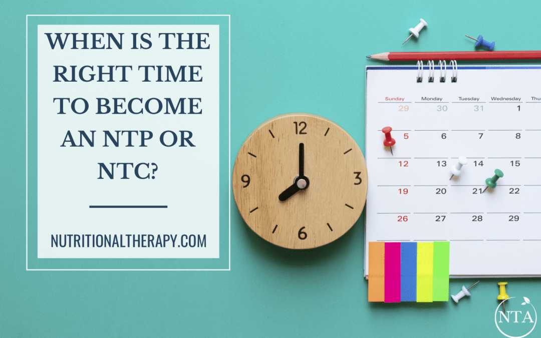 When is the Right Time to Become an NTP or NTC? Watch Lead Instructor, Janelle Johnson Grove on Facebook Live