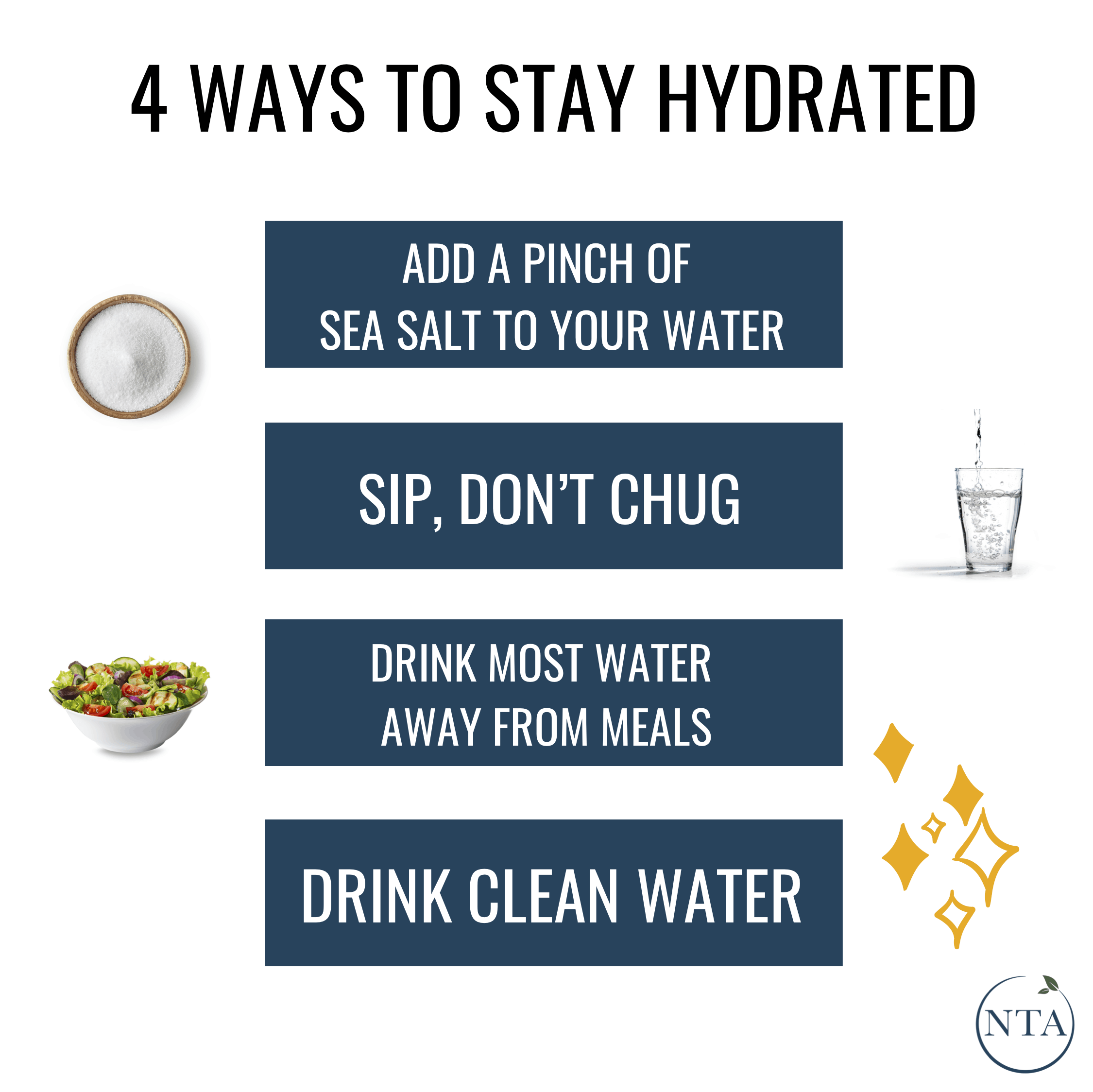 4 Ways To Stay Hydrated