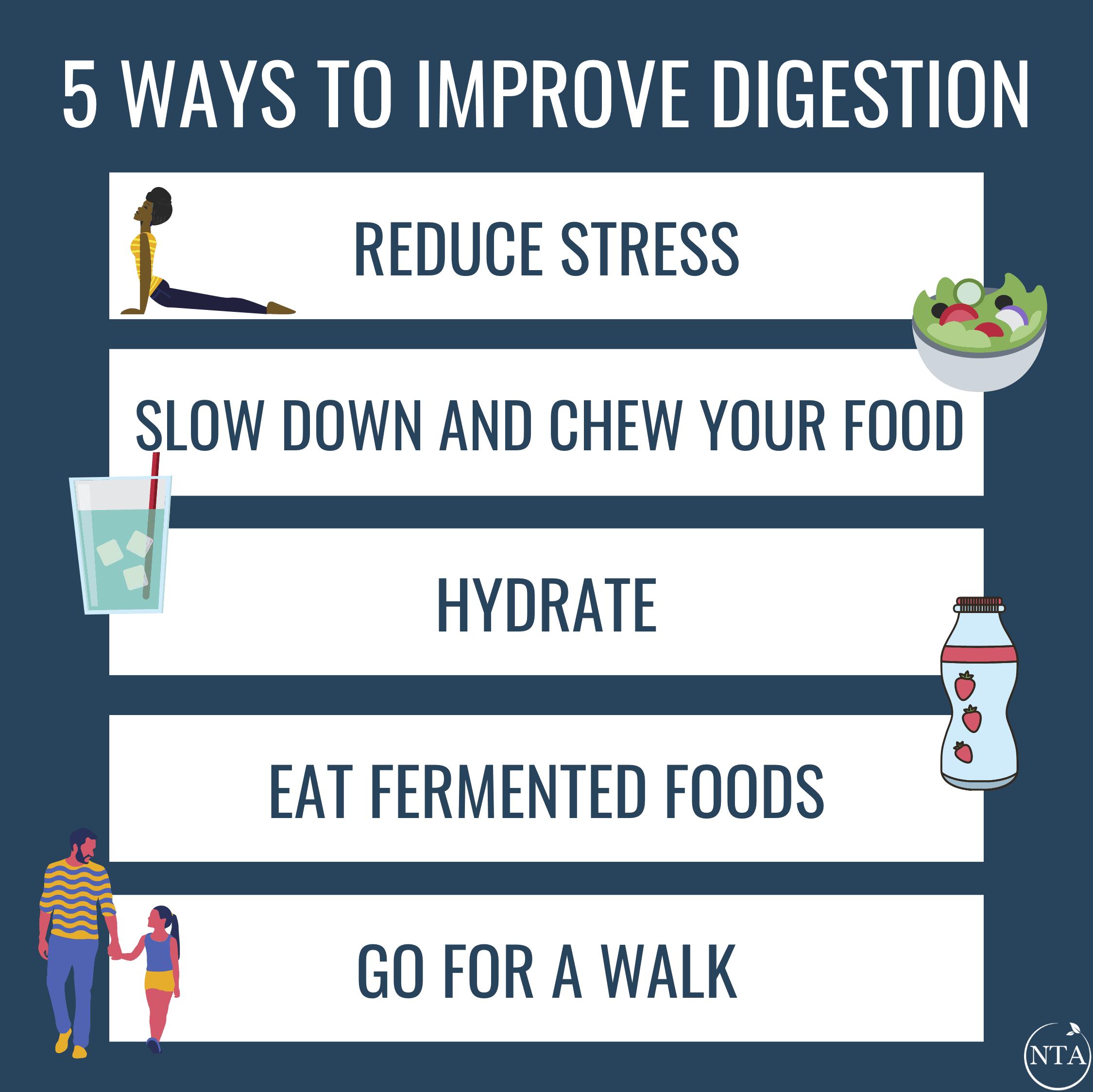 5 Ways To Improve Digestion