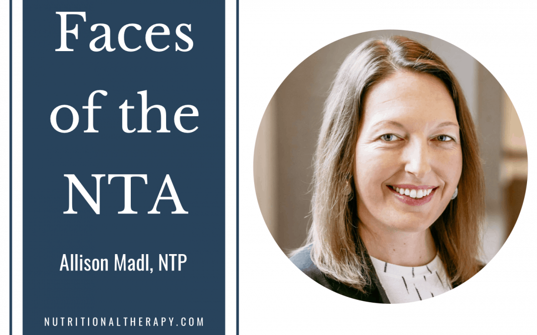 Faces of the NTA: Meet Allison Mädl
