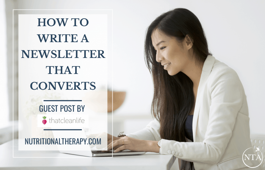 How To Write A Newsletter NTA
