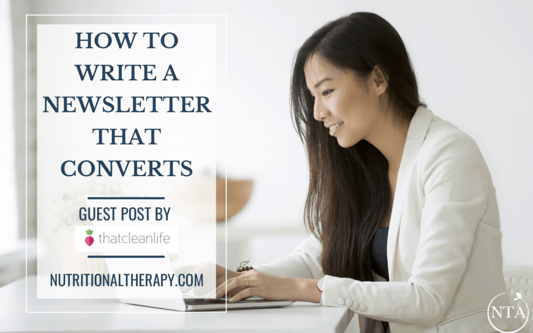 How to Write a Newsletter That Converts