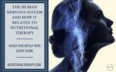 The Human Nervous System and How it Relates to Nutritional Therapy: Watch this Replay with Cathy Eason