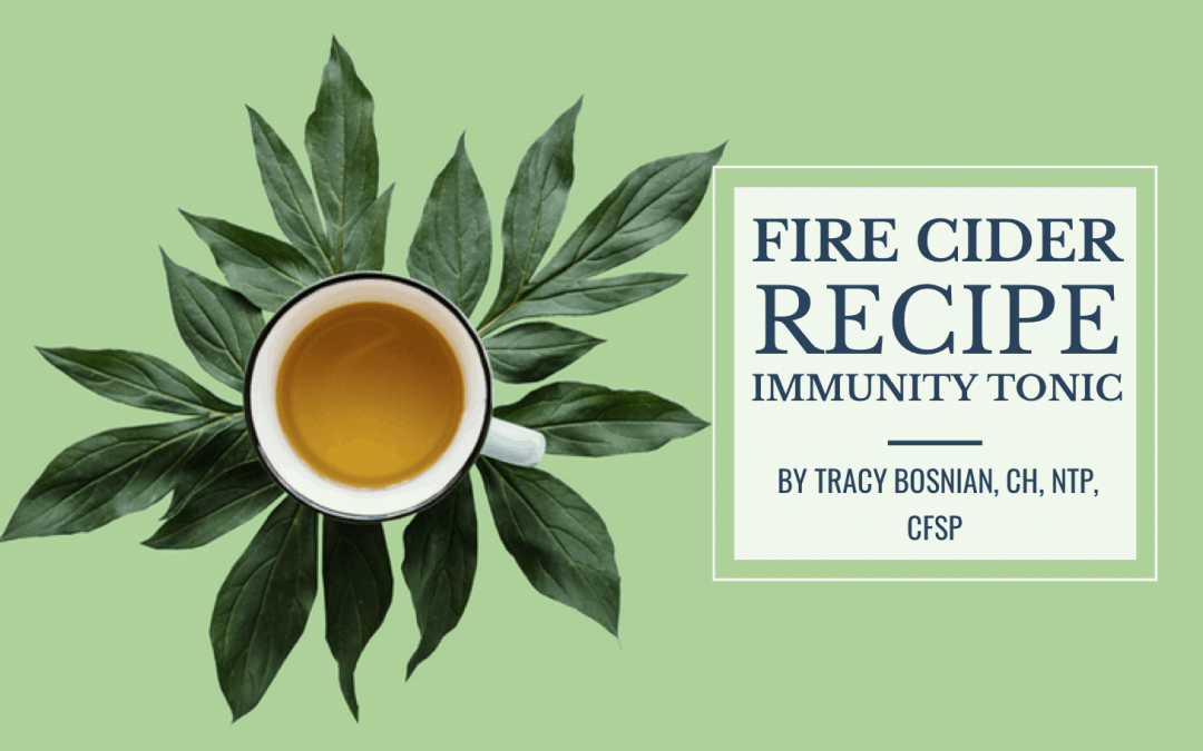 Fire Cider Recipe: Immunity Tonic That Supports Seasonal Allergies