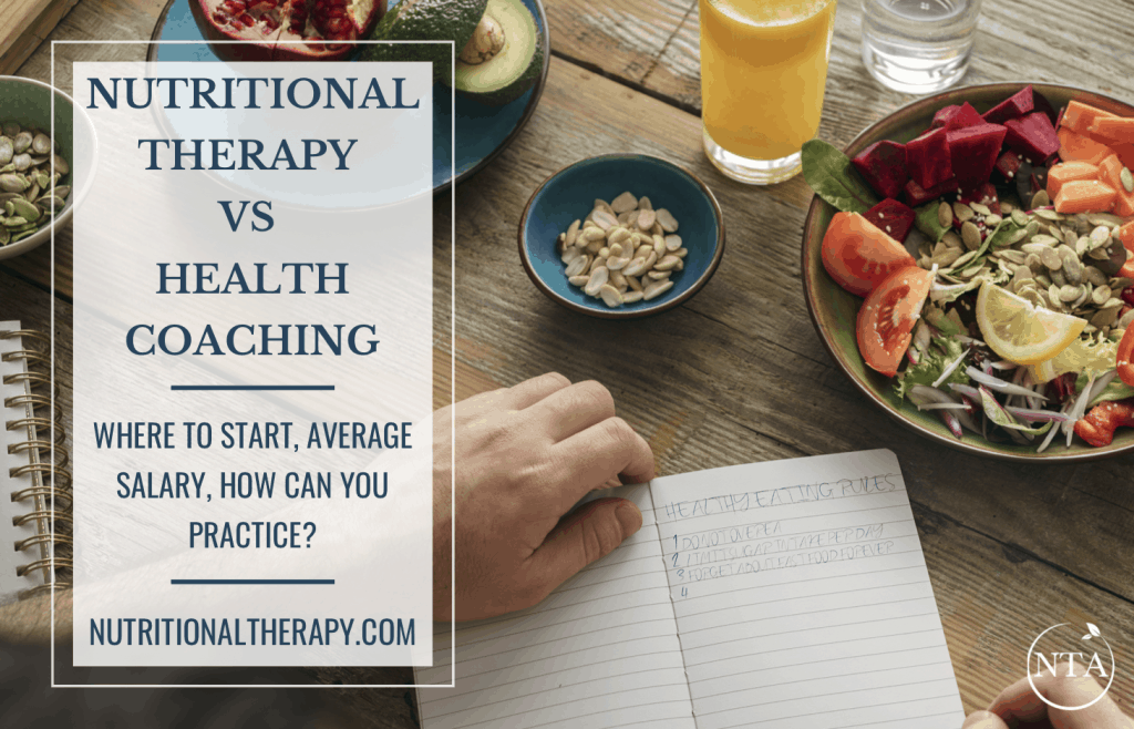 Nutritional Therapy Vs Health Coaching