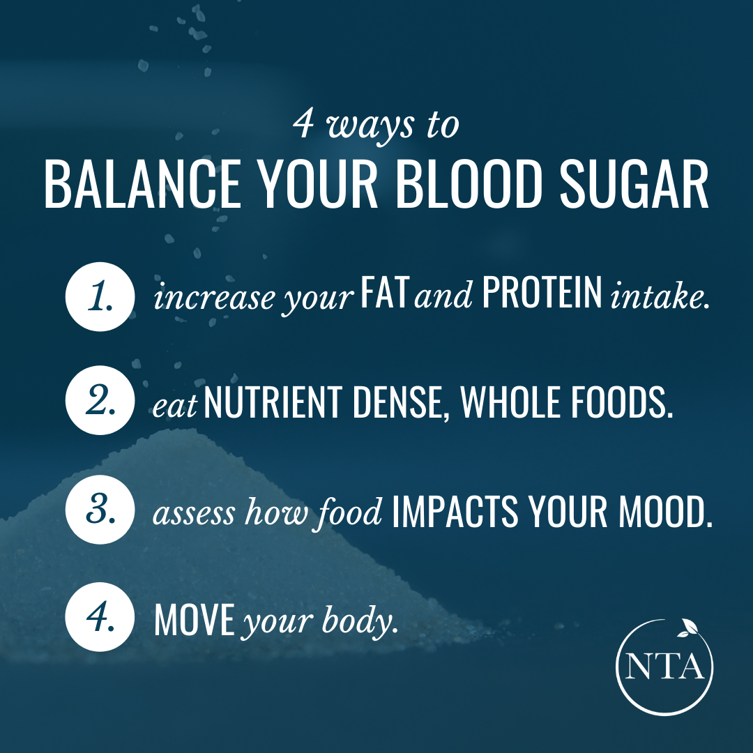 4 ways to balance your blood sugar