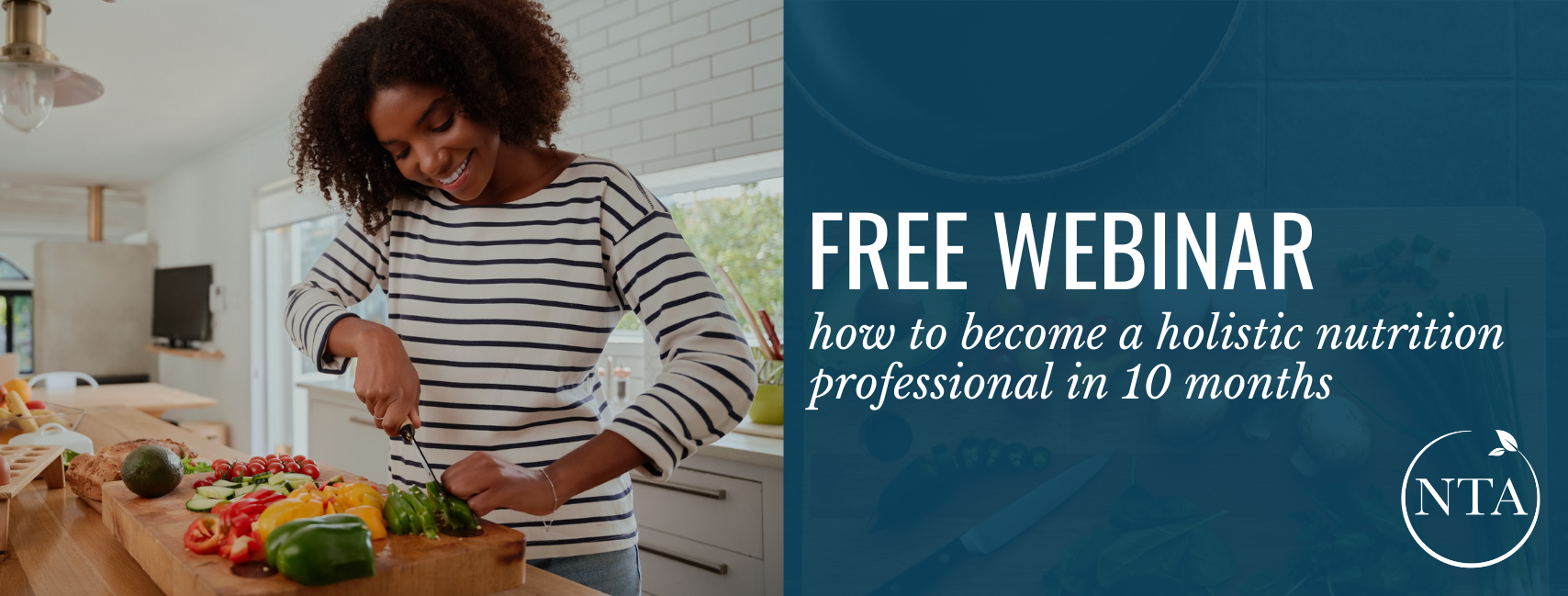 Free Webinar how to become a holistic health professional in just 10 months