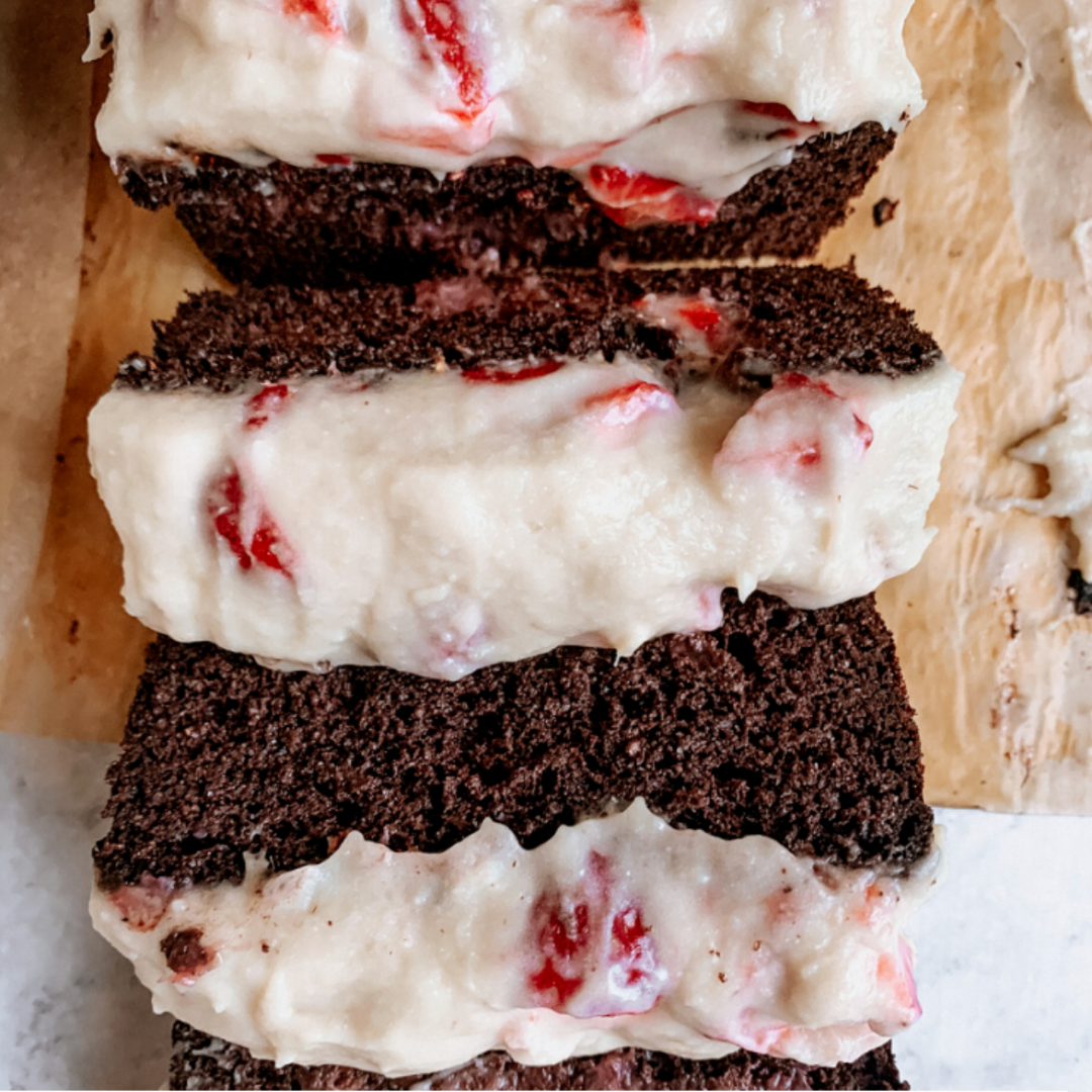 Chocolate Covered Strawberry Bread